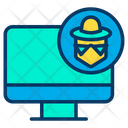 Cyber Crime Hacker Cyber Security Icon