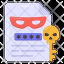 Hacker Report Hacker File Hacker Document Icon