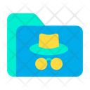 Hacker  floder Icon