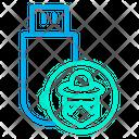 Hacker Pendrive Icon