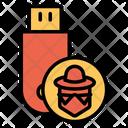 Pendrive Usb External Storage Icon