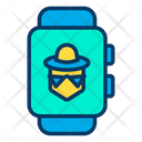 Hacker Smartwatch Icon