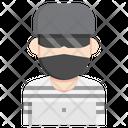 Hackers Criminal User Icon