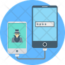 Hacking Data Theft Incognito Icon