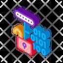 Hacking Binary Code Icon