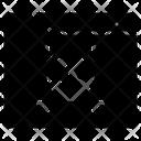 Pirate Site Virus Cyber Icon