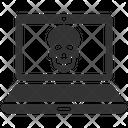 Computer Hacking Virus Icon