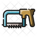 Hacksaw Saw Sawing Icon