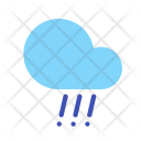 Hail Rain Cloud Icon