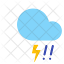 Hail Storm Lightning Icon