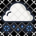 Hail Cloud Rain Icon