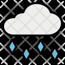 Hail Cloud Hailstone Icon