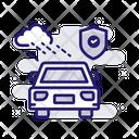 Hail Damage Insurance Icon