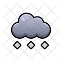 Hail Weather Sky Icon
