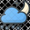Hailstorm Storm Night Icon