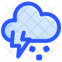 Hail Storm Thunder Icon