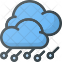 Hailstorm Storm Forcast Icon