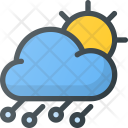 Hailstorm Storm Day Icon