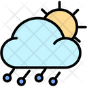 Hailstorm Day Icon