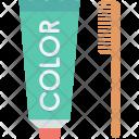 Hair Color Dye Icon
