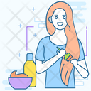 Hair Conditioner Hair Dye Dye Cream Icon