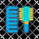 Brush Comb Hair Comb Icon