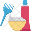 Hair Color Hair Dye Hair Tinting Icon