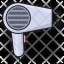 Dryer Hot Hair Icon