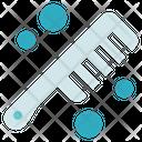 Hygiene Hairbrush Comb Icon