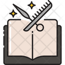Hairdresser School Haircutting Classes Hairstling Study Icon