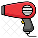 Hairdryer Blow Dryer Hairstyling Icon