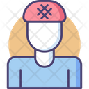 Hairnet Shower Cap Safety Cap Icon