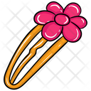 Hairpin Hair Accessory Styling Pin Icon
