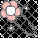 Hairpin Clip Pin Icon