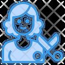 Hairstylist Avatar Occupation Icon