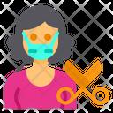 Hairstylist Baber Occupation Icon
