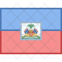 Haiti Flag Country Icon