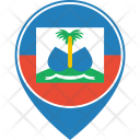Haiti Flag World Icon