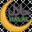 Halal Sign Muslim Icon
