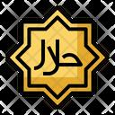 Halal Food Moslem Icon
