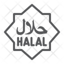 Halal Product Arabic Icon