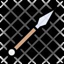 Halberd Throwing Sport Icon