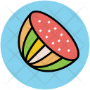Half Cucumber Vegetable Icon