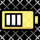 Half Battery Battery Level Half Icon