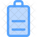 Half Battery Battery Indicator Battery Level Icon