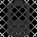 Half Low Empty Icon