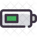 Half Battery Battery Half Icon
