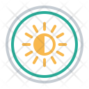 Half Brightness Icon