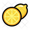 Half lemon Icon