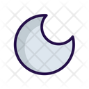 Half Moon Night Icon